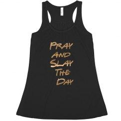 Pray and Slay Racerback Tank