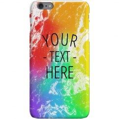 Customizable Rainbow iPhone Case