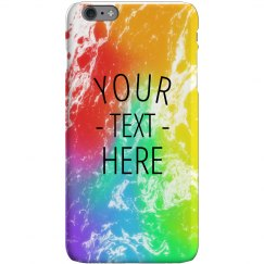 Customizable Rainbow iPhone Case