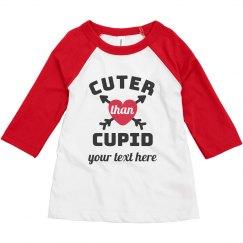Cuter Thank Cupid Heart Tee