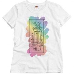 Villa Logo Rainbow Paint Tee