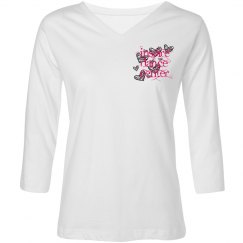 Inspire Dance 3/4 length shirt