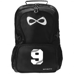 Softball Girl's Black Nfinity Backpack