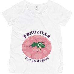 Pink Pregzilla Egg