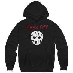 Distressed Mask Off Hoodie