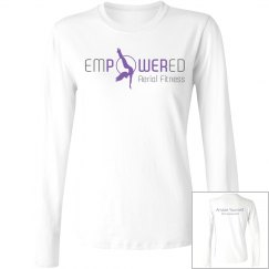 Empowered Logo long sleeve tee 1