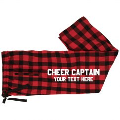 Personalized Cheer Captain Your Text Here
