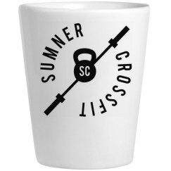 SCF shot glass