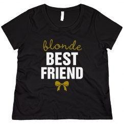 Curvy Blonde Best Friend Tee