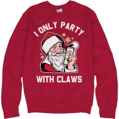 Funny Christmas Party With Claws