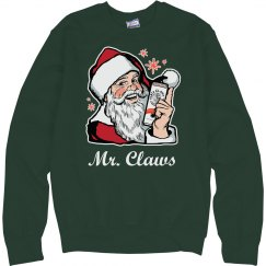 Mr. Claws Ugly Christmas Sweater