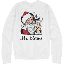 Mr. Claws Funny Ugly Xmas Sweater
