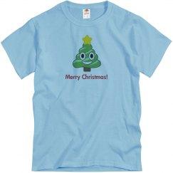 Christmas Poop Tree blue
