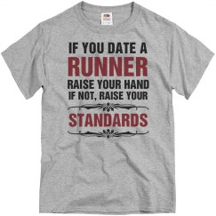 If you date a runner raise your hand