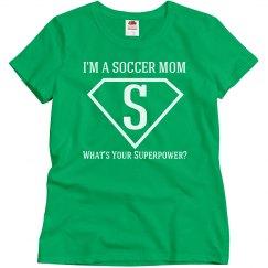 I'm a soccer mom