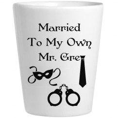 Married Shot Glass