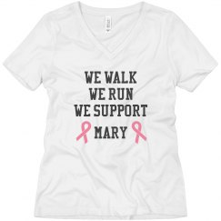 Support Breast Cancer Tee