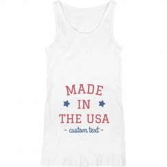 Made in the USA Custom Maternity Tank