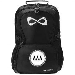 Custom Monogram/Initial Backpack School Gift For Teen
