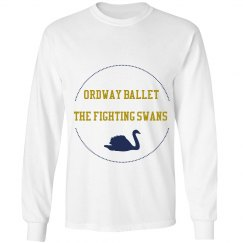 Unisex Fighting Swans Long sleeve