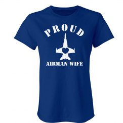 Proud Airman Wife Tee