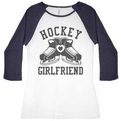 Cute Hockey Girlfriend Jersey