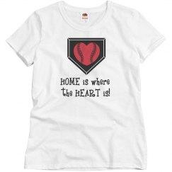 Baseball Home-Heart