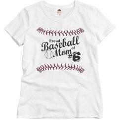 Proud Baseball Mom #