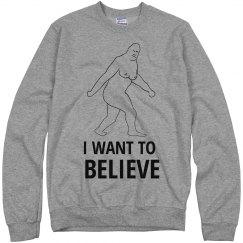 Sasquatch I Want to Believe