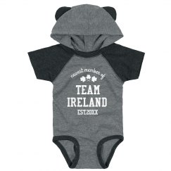 Family Team Infant Hood Bodysuit