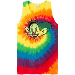 Tie Dyed Dope Muscle Tank
