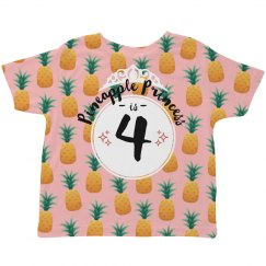 Pineapple Princess Birthday