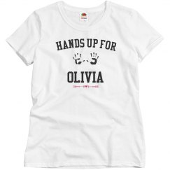 Hands up for olivia