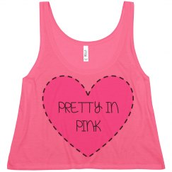 Pretty in Pink Crop Top