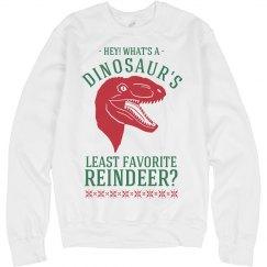 Dinosaur's Least Favorite