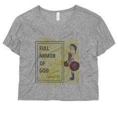 Armor of God Crop Shirt