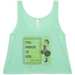 Armor of God Crop Tank