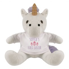 Personalize A First Easter Plush