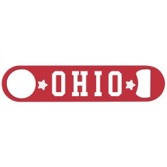 Ohio Football Bottle Opener