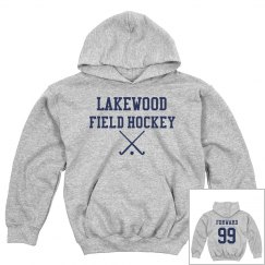Lakewood Field Hockey Hoodie (youth sizes)