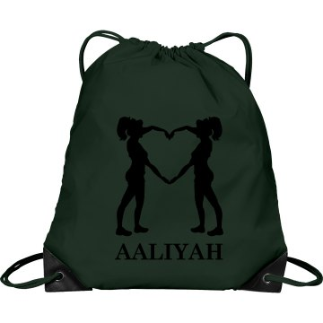 Aaliyah cheer bag
