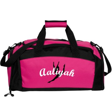 Aaliyah Gymnastics bag