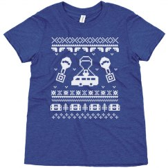 Gaming Ugly Sweater Kids Tee