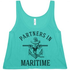 Partners In Crime Beach BFF Tank