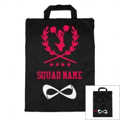 Personalized Name Cheer Squad Bag