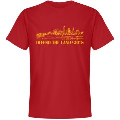 Defend the Land Cleveland Basketball 2018 Men's Shirt