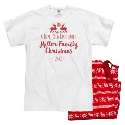 Fun Old Fashioned Custom Christmas