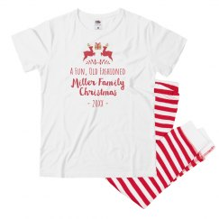 Custom Funny Old Fashioned Christmas