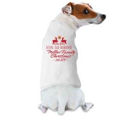 Custom Family Christmas Dog Shirt