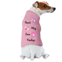 Beach Play Love Tank - Pawleys